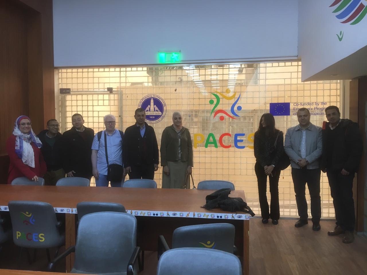Monitoring Visit by National Erasmus Office at ASU (Egypt)