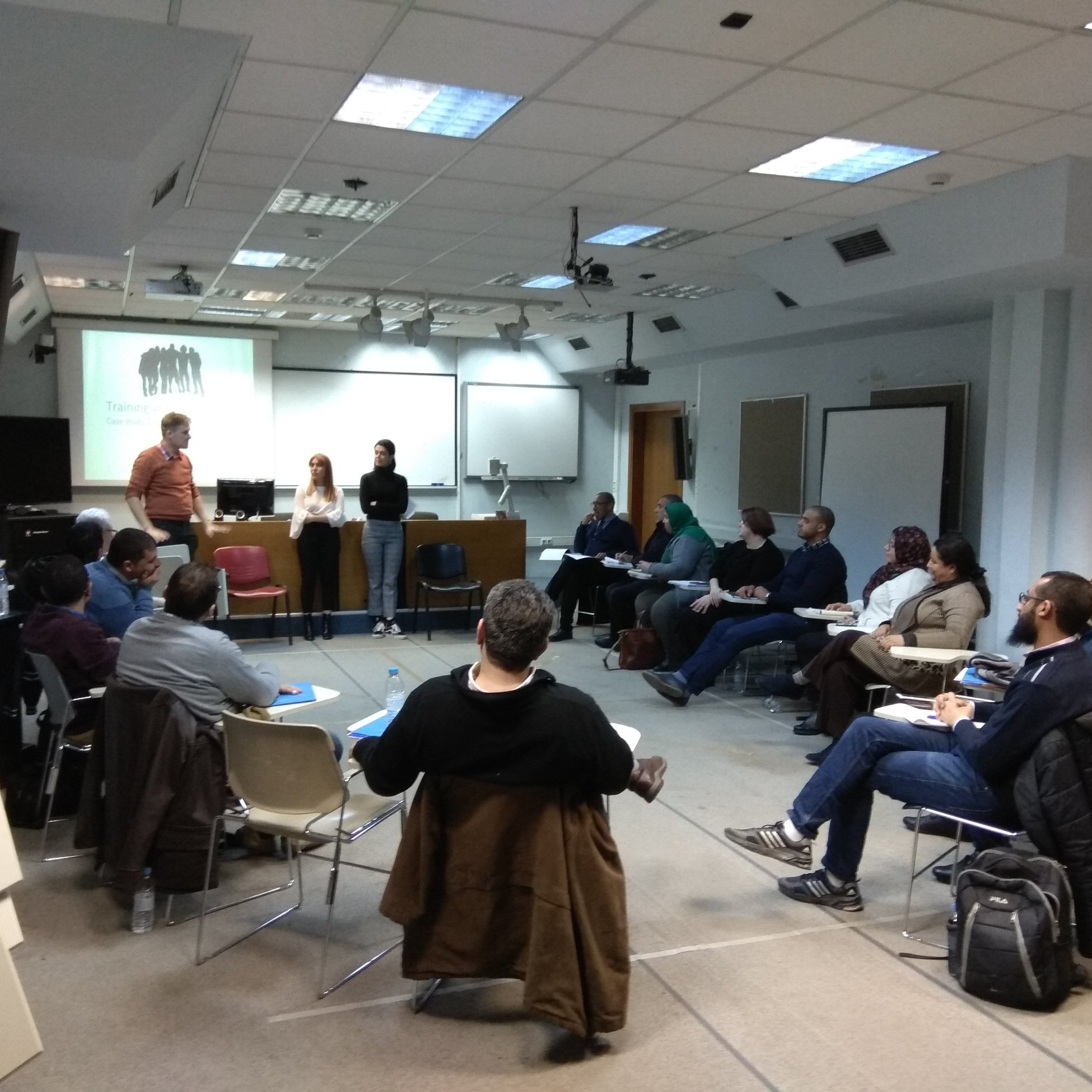 Train the Trainers at University of Macedonia (Greece)