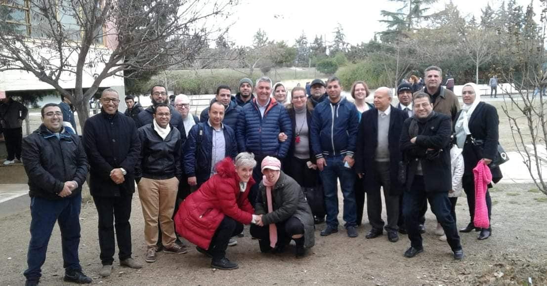 الإجتماع الرابع للمشروع في جامعة مقدونيا باليونان