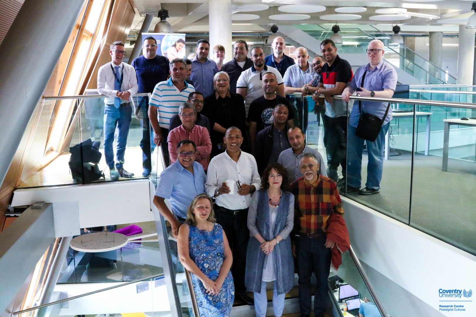 Third Train the Trainers week held at Coventry University, 8-12 July 2019 (England)