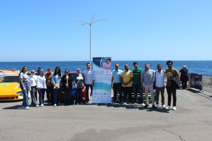 The 16th Pop-Up Visit of PACES Project Activities at Egypt Rally