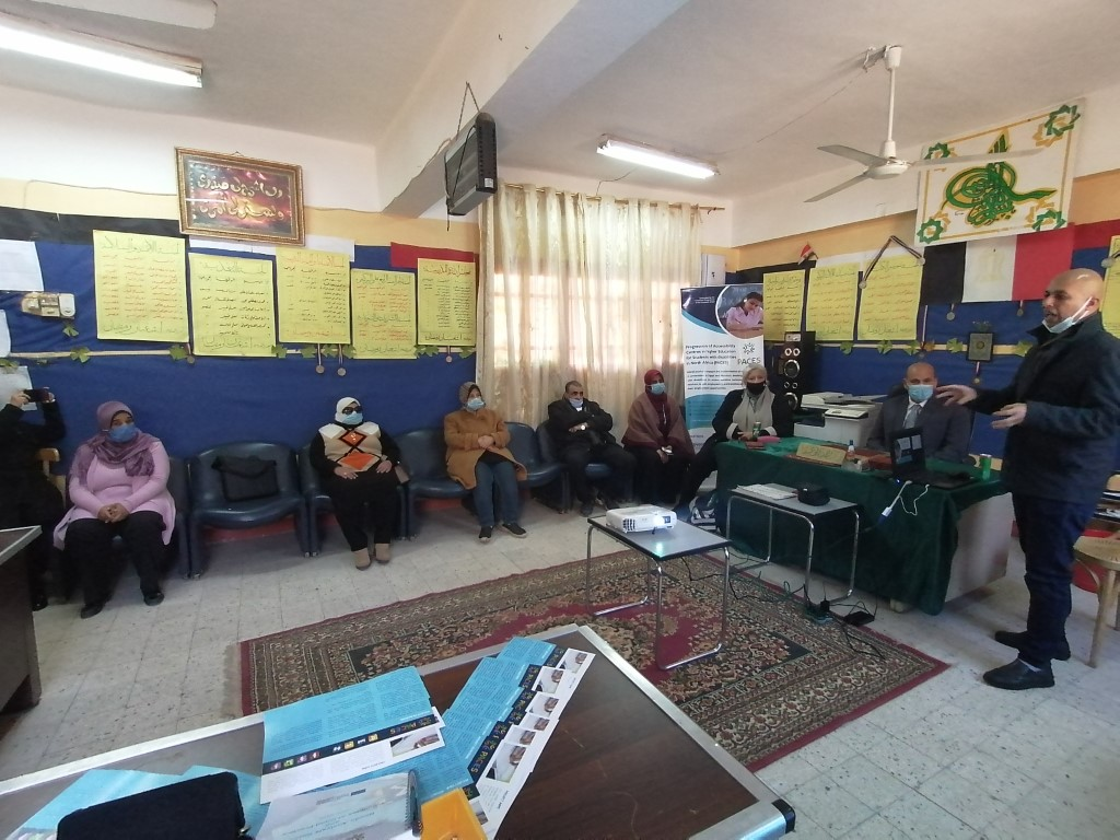 The 8th Pop-Up Visit of PACES Project Activities at Al Noor School