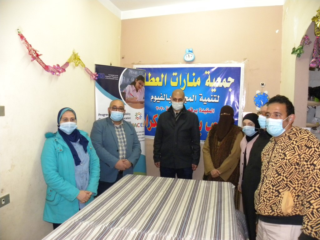 The 9th Pop-Up Visit of PACES Project Activities at Manarat Al-Ataa