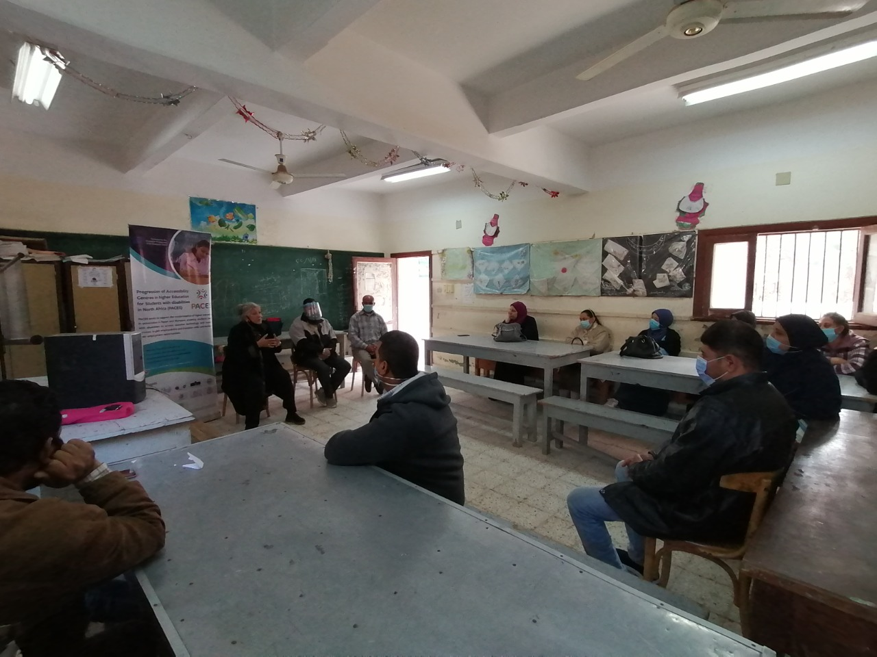 The 10th Pop-Up Visit of PACES Project Activities at Al-Amal School